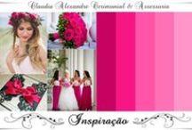 Casamento | Decoração em  Pink