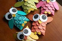 Ptáci / z papíru, dekorace aj.