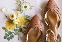 Beauty of shoes / vintage shoes, retro shoes, flats