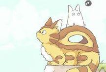 Studio Ghibli x3
