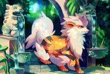 Pokemon (>-'.'-)>