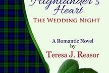 Novels:  Historical Romantic Suspense / My Historical novels.