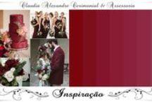 Casamento | Decoração em Marsala