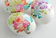 Springtime. / Spring into springtime with cute ideas for coloring eggs, creating DIY crafts & making Easter baskets!