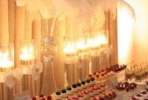 Casamento | Decoração sem Flores / Inspiração e ideias para decoração de casamento sem flores.