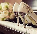 Casamento | Sapato da Noiva / Inspirações e sonhos em forma de sapatos para noivas.