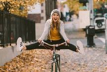 Fall Fashion. / Scroll through this board to see 70s inspired rugby pullovers, cozy fleece crew necks, butter soft go long tees, sporty shorts & much much more. Let us help you feel confident, cozy and classy this fall season. To see more, head to albionfit.com/collections/leisure