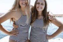 Sweet Stripes. / Striped everything...yes please.