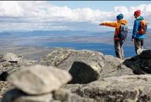 The bitihorn setup / What you need for a lightweight trekking adventure