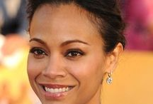 zoe saldana / actress / by Fashion is my Oxygen