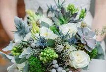 Event Flowers: blues