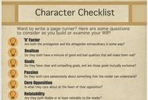 Writing: Character Descriptions, Traits, Personalities / Writing resources for creating characters; how they look, behave, think, etc.