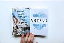 DIY // art journal