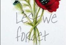 ANZAC Day/ Remembrance Day / ANZAC Day: 25 April. Remembrance Day:11 November.