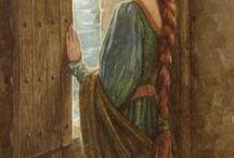 Fairy art / illustration for fairytales