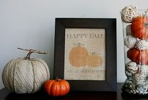 Fall Decorating / Fall decor for both in the home and outdoor living.