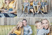 Photography / Photoshoot ideas. Family photo outfit ideas. Holiday card photo ideas.