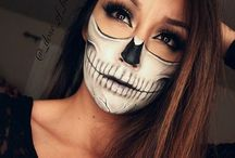 Halloween / Scary, cool and huntingly good Halloween makeup and costume ideas