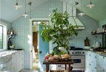 Küche Ideen • Kitchen / Ideen für die Küche: Praktisches und Schönes.