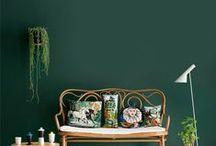 Wohnideen in Grün • Living in Green / Grün grün grün sind alle meine Zimmer, grün grün grün ist alles, was ich hab ... ;-)
