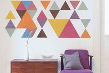 Wände Ideen • Walls / Deko-Ideen für die eigenen 4 Wände.