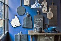 Wohnideen in Blau • Living in Blue / Blau ist wie ein Tag am Meer, oder?