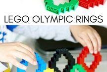 Olympics / Olympic themed party ideas. Olympic themed treats and recipes.