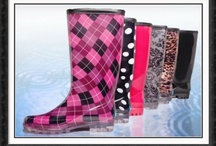 Rainboots. / by Sheri Carter
