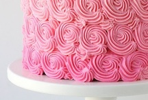 Pink Cakes / Cakes with pink and rose colors