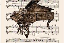 Sheet Music / by Deborah Free-Lynch