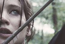 Hunger Games!!<3 <3 /  Hunger Games. Katniss Everdeen. Peeta Mellark. Catching Fire. Mockingjay. Everything Hunger Games.  / by Sabreelyn