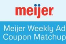 Meijer Deals / All the best coupons and deals to save money at Meijer! / by Grocery Coupon Network