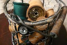 Wire Baskets / by Deborah Free-Lynch