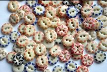 China & Calico Buttons  / by Deborah Free-Lynch