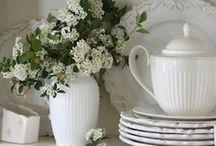 White Tableware / by Deborah Free-Lynch