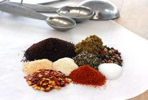 Dry Rubs and Spice Mixes / Dry rubs, seasoning salts, herb mixtures, and spice mixes.