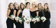 bridesmaid inspo / Some examples of bridesmaid dresses...  Cheapish options: Azazie.com, Missguided, Lulu's  YES to: chiffon, matte poly-type fabrics, all necklines and sleeve lengths, lace accents on the dress,floor length, leg slits (is that a word? it sounds disgusting typed out like this but yeah those are fine)  NO to: velvet, shiny fabrics, bling on the dress, jersey/cotton/modal blends. Basically if it feels like you could wear it to a casual BBQ if it were shorter, no.