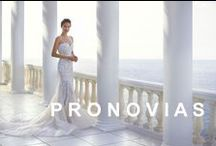 PRONOVIAS / PRONOVIAS BARCELONA, the worlds leading birdal house.  PRONOVIAS is in the North of the Nederlands excusively available at Sterenborg Bruidsmode. www.sterenborgbruidsmode.nl