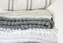 beautiful linen, cusions & other fabrics