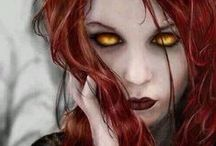 Vampires / An odd fascination, but we all love them.Maybe it's the mystery that surrounds them, as well the the sensual bite that kills.