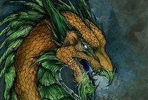 Dragons II / Huge and fierce creatures that love shiny things.
