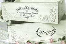 Manualidades- Cajas / Caja decoradas