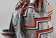 Bolsos de lana o tejidos / Bolsos tejidos, de lana u otros materiales