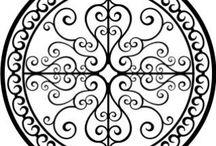Plantillas - Mandalas y otros diseños