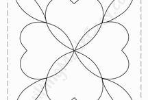 Plantillas - Acolchado patchwork