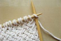 Tejer - Muestrario puntos dos agujas