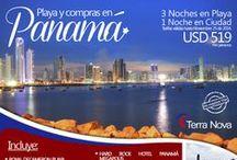 Panama / Disfruta de días de playa y compras en Panamá! más información http://www.terranovaviajes.com/index.php?option=com_content&view=article&id=176&catid=7:paquetes-turisticos&Itemid=20