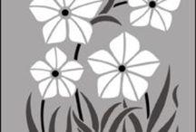 Plantillas - Estarcido / Stencil