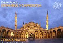 Turquía / Déjate  seducir…Viaja a Turquía y conoce la imponente ciudad de Estambul y la magia de la Capadocia...