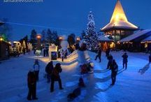 Santa Claus Village in Rovaniemi / Photos and videos about the Santa Claus Village in Rovaniemi in Finland where our Snowmobile Park is located